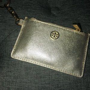 Tory Burch Card Holder & Chain
